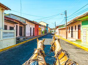 Nicaragua Granada Pferdekutsche