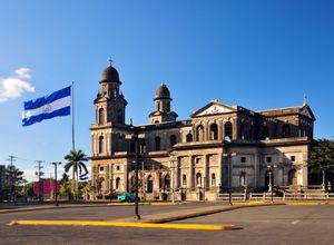 Nicaragua Managua Hauptplatz