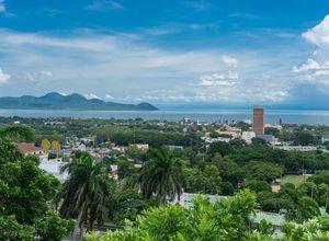 Nicaragua managua Aussicht