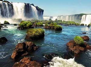 Brasilien Foz do Iguazu Wasserfälle