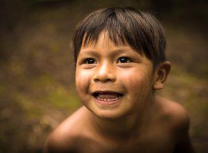 Brasilien Amazonas Einheimischer