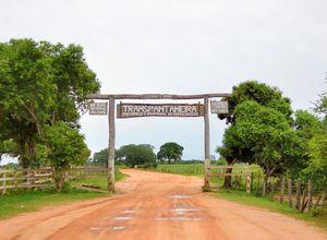 Brasilien Pantanal Eingangstor
