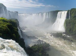 Brasilien einzigartige Wasserfälle von Iguazu