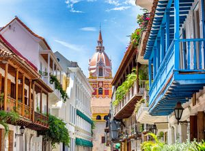 Kolumbien Cartagena Kirche