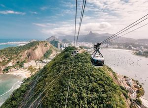 Brasilien Rio de Janeiro Seilbahn
