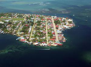 Isla Colon Town