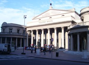 Uruguay Montevideo Theater