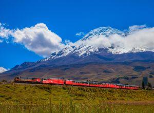 Ecuador Tren Crucero Chimborazo slopes