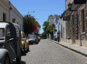 Uruguay Colonia Strassenbild
