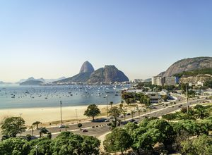 Brasilien Rio de Janeiro Stadt Gruppenreise Zuckerhut