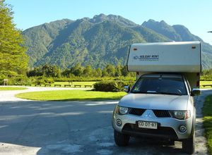 Chile Landschaft Camper Camperreise