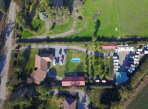 Chile Santiago de Chile Büro Holiday Rent Luftbild Camperreise