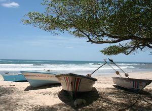 Costa Rica North Pacific Beach Boat