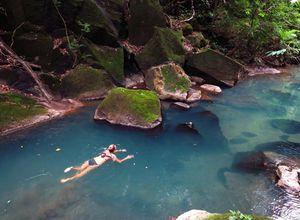 Costa Rica Rio Perdido Hot River