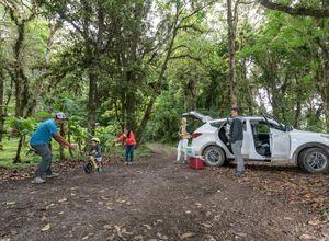 Costa Rica Mietwagen Adobe Hyundai Santa Fe