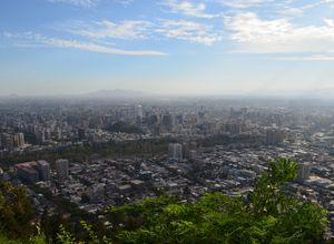 Chile Santiago Aussicht