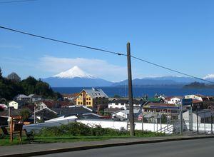 Chile Puerto Varas vista al Osorno