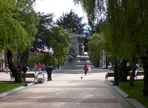 Chile Punta Arenas Plaza de Armas