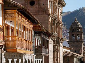 Peru Cusco Plaza de Armas iStock 184282928