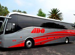 Mexiko ADO Bus komfortabel Aussenansicht
