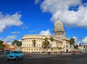 Kuba Havana Paseo de Marti