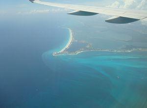 Mexiko Cancun aus der Luft