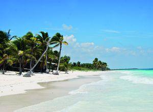 Mexiko Tulum Beach