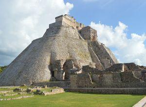 Mexiko Uxmal Pyramide