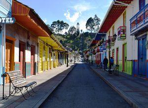 Kolumbien Salento Straße