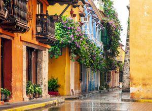 Kolumbien Cartagena Straße iStock 1041827212