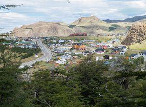 Argentinien-El-Chalten-Dorf