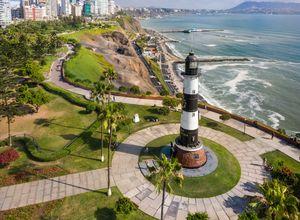 Peru Lima Miraflores Leuchtturm iStock 1091870010