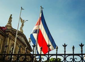Costa Rica San Jose Flagge iStock 492356834