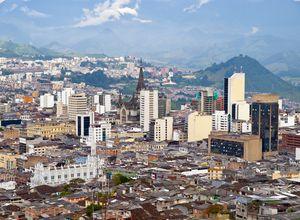 Kolumbien Manizales Aussicht iStock 184887021