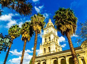 Bolivien Cochabamba Kirche iStock 955140150