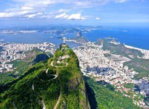 Brasilien Rio Corcovado Christusstatue iStock 523665439