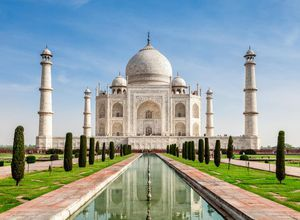 Indien Agra Taj Mahal Palast Reise Spezialist