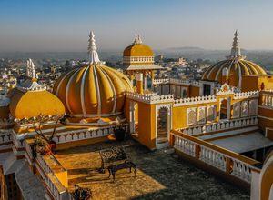 Indien Deogarh Palasthotel edel elegant