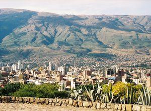Bolivien-Cochabamba-Stadt