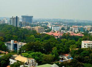Indien Bangalore Bengaluru Stadt