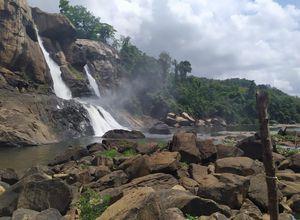 Indien Valparai Coimbatore Wasserfall