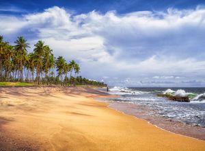 Sri Lanka Chilaw Strand Entspannung Erholung geniessen
