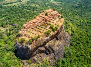 Sri Lanka Sigiriya Drohne Urlaub
