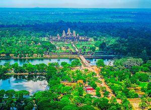 Kambodscha Angkor Wat Tempel Reisebuero