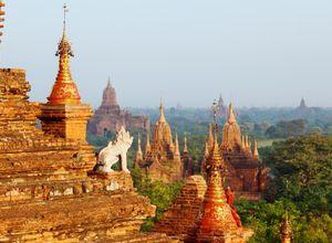 Myanmar Bagan Tempelwelt Erlebnis Reisebuero
