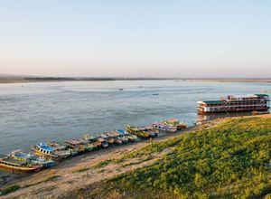 Myanmar Irrawaddy Fluss Kreuzfahrt Ausflug Bagan Mandalay