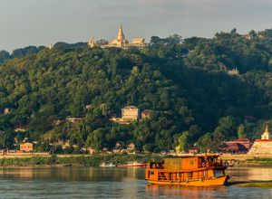 Myanmar Irrawaddy Fluss Kreuzfahrt Tour
