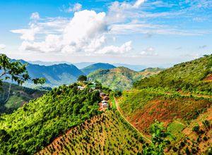 Myanmar Kalaw Wandern Wanderung Urlaub