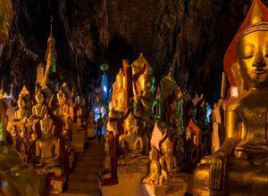 Myanmar Pindaya Hoehle Besichtigung Reiseprofi