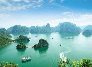 Vietnam Halong Bucht Erlebnis Highlight Dschunke